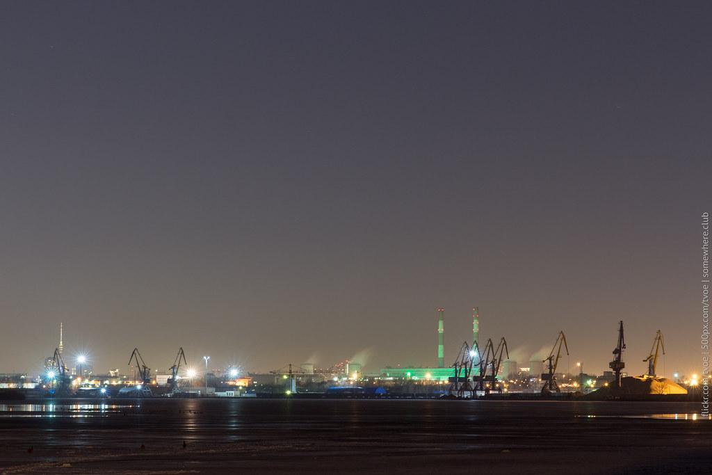 Панорама Москвы с Останкинской башней из Печатников