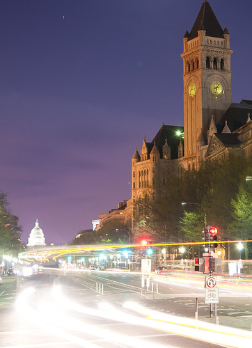 Old Post Office and Capital building