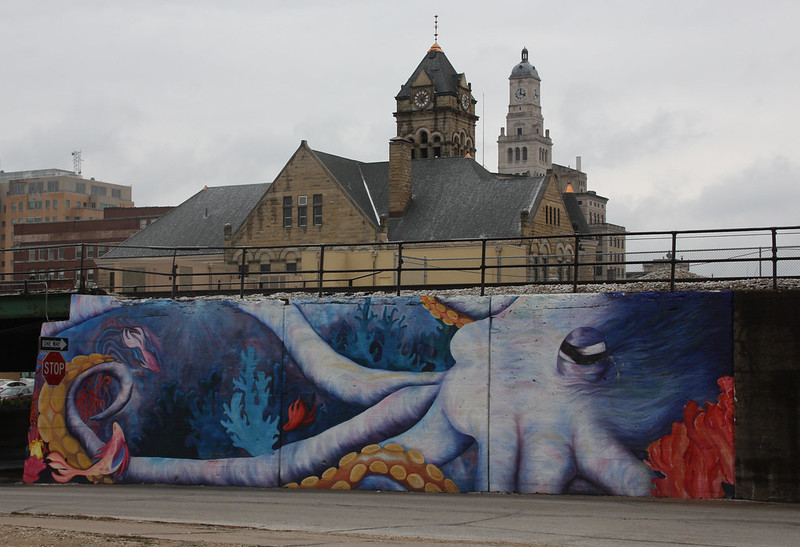 Downtown Davenport mural