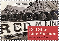 18a Red Star LIne Museum timbre v
