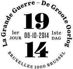 19 LA GRANDE GUERRE zBrussel F