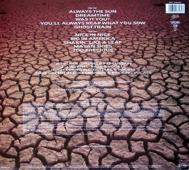 """Stranglers - Dreamtime 12"""" vinyl lp"""