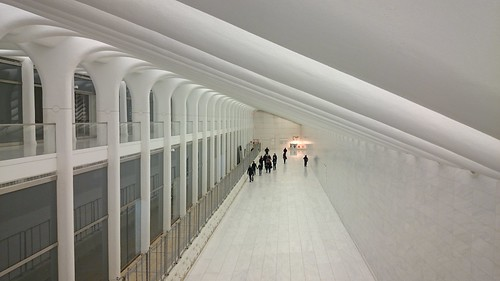 New PATH - WTC underground passage