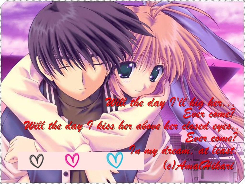 Cute Anime Love Quotes Wallpaper Download Free Cute Anime Flickr