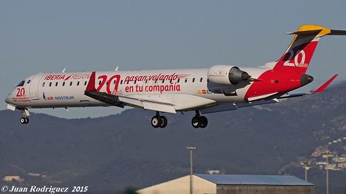 EC-JNB - Air Nostrum (Iberia Regional)  Bombardier CRJ-900 (CL-600-2D24)