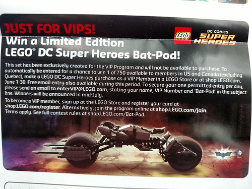 Limited Edition Bat-Pod Promo