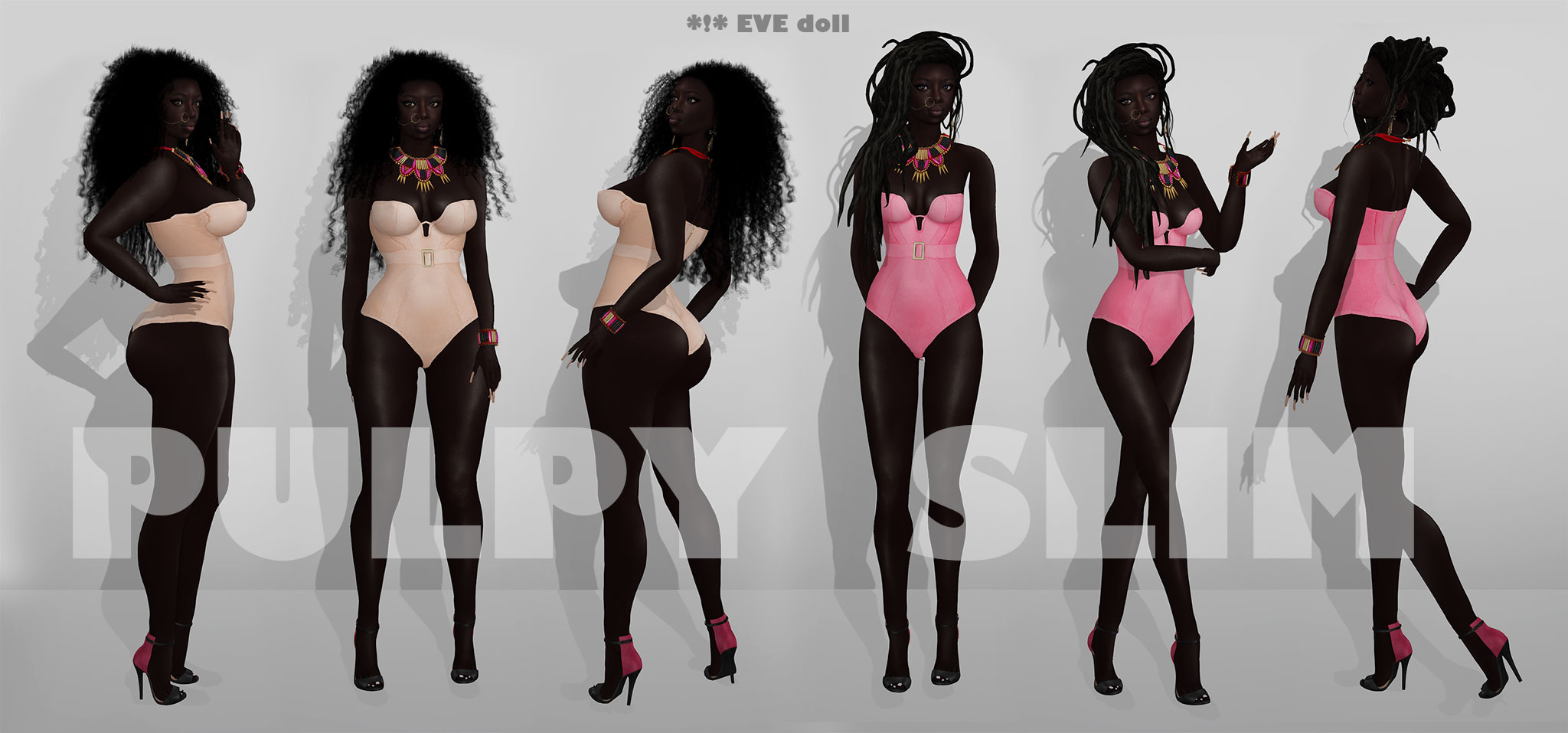 Eve doll pulpy&slim