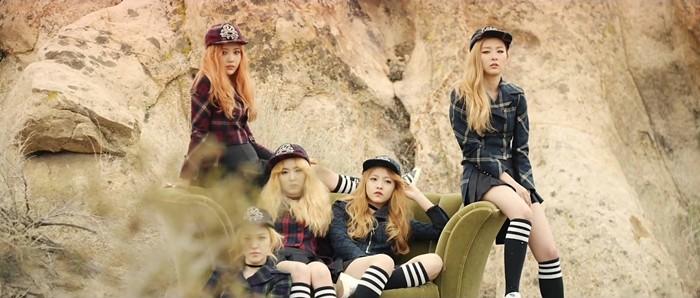 Red Velvet em seu Ice Cream Cake: nada sexys, mas muito engraçadas