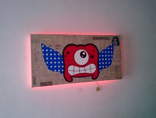 If God bless America, What about art ? with ambi light effect