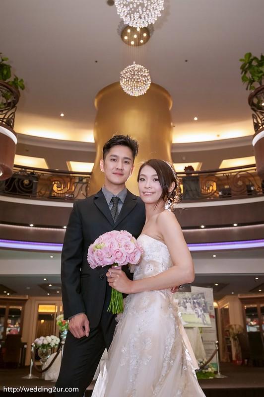 台中婚攝@台中新天地崇德店_107立群&儀婷 訂結婚喜宴