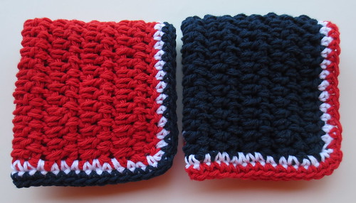 In Between Dishcloth Pattern