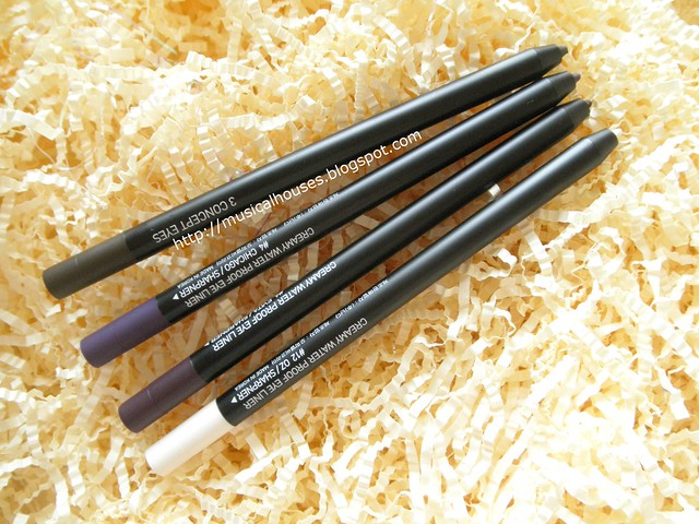 3CE Creamy Waterproof Eyeliner Pencils