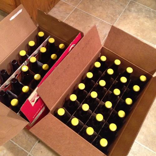 Sorry Karl Kölsch, all bottled up. #homebrewing