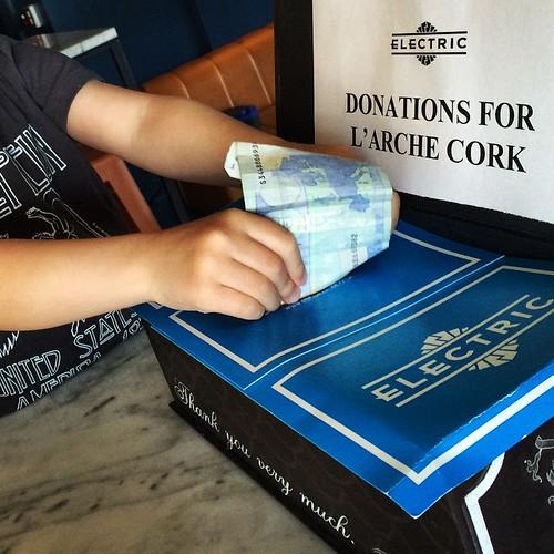 Cake Club @cakeclubcharity at @electriccork #larcheireland #donate