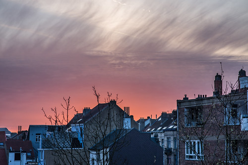 Sunrise in Brussels