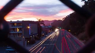 Pacific Coast Highway Sunset