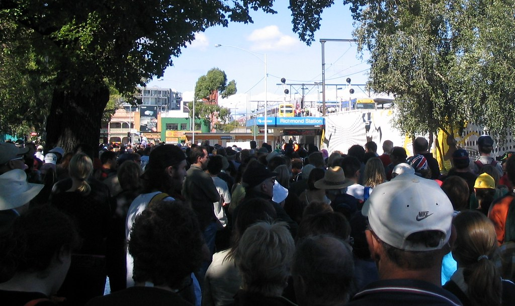 Richmond station, Commonwealth Games 19/3/2006