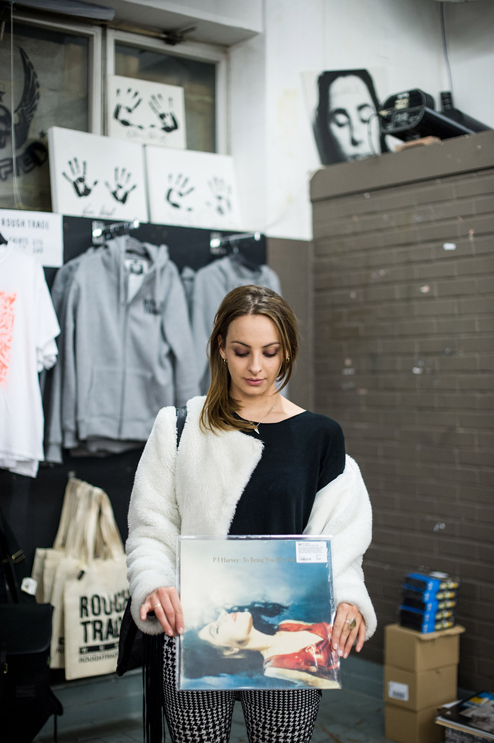 Record Shopping With... Francesca Belmonte