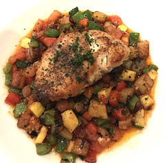 Red Snapper with Italian Ratatouille