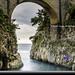 Furore Bridge Amalfi Coast by Daryl L. Hunter - Hole Picture Photo Safaris