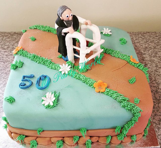 A Fun Cake for a 50 Year Old by Feroza Butler of My Party World