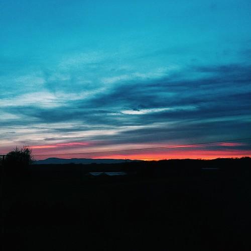 Very nice view😍 #france #strasbourg #lipsheim #sunset #VSCOcam #travel