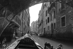 Venice - Gondola ride view 3