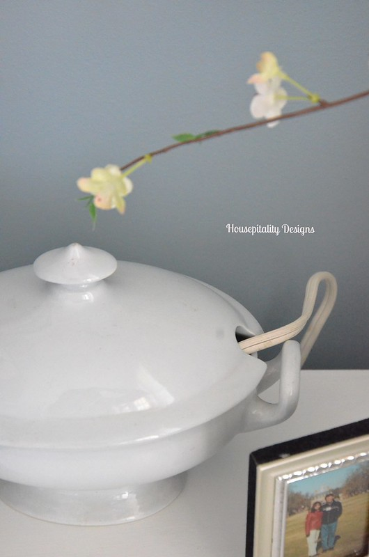 Ironstone Tureen for Charging Station-Housepitality Designs