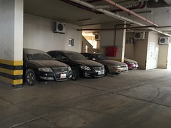 automobile, automotive exterior, garage, wheel, vehicle, bumper, car park, parking,