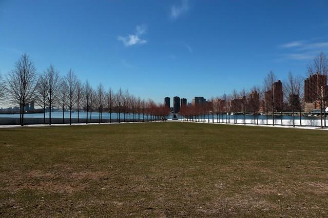 Roosvelt Island: la vista dal Memorial
