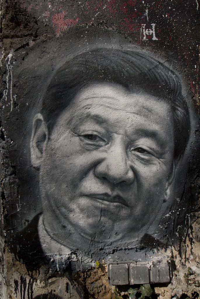 Xi Jinping, painted portrait _DDC2215