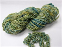 Mermaid Bling handspun