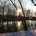 Een winters zonnetje