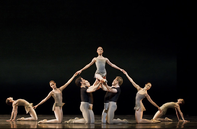 Artists of The Royal Ballet in Song of the Earth, The Royal Ballet © ROH/Johan Persson, 2012