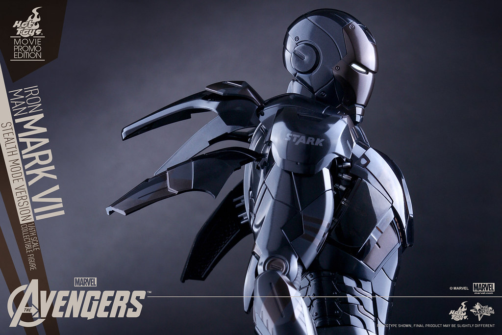Hot Toys – MMS282 –【馬克七匿蹤版】1/6 比例 Iron Man Mark VII Stealth Mode Version