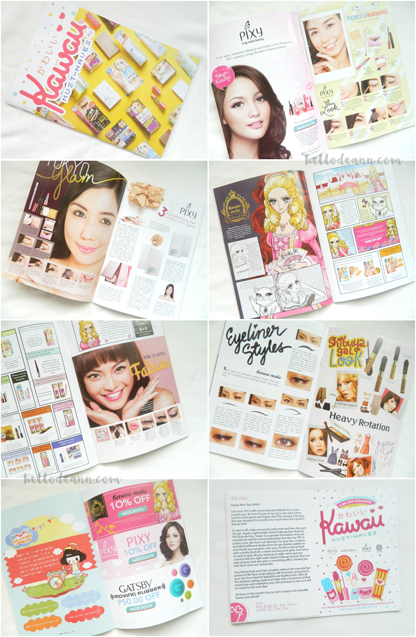 BDJBox Exclusive Kawaii Must-Haves Booklet