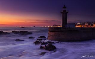 The Lighthouse - Foz do Douro, Twilight