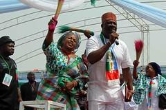Muhammadu Buhari Presidential Campaign Rally 2015 Minna