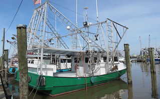 Venice, Louisiana.  Shrimp Fishing Boats