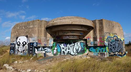 Le Bois Plage en Ré, blockhaus seconde guerre mondiale