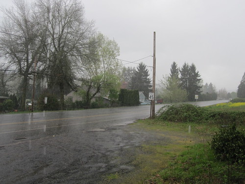 Typical Oregon brevet weather