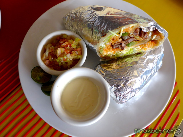 Ground Beef Burrito (120 Pesos)