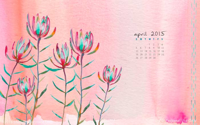 April 2015 Desktop Wallpaper