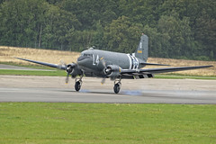 aviation, narrow-body aircraft, airliner, airplane, propeller driven aircraft, vehicle, military transport aircraft, douglas c-47 skytrain, air force,