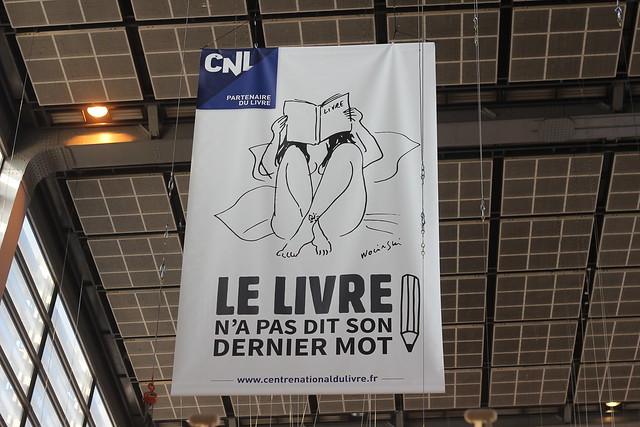 Le livre n'a pas dit son dernier mot (Wolinski) - Salon du Livre de Paris 2015
