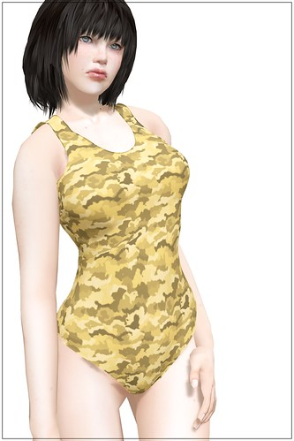 One-Piece Swimsuit Camouflage