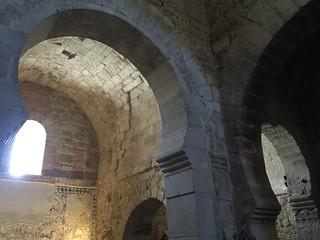 Interior de la iglesia de Santa María de la O (Wamba, Valladolid)