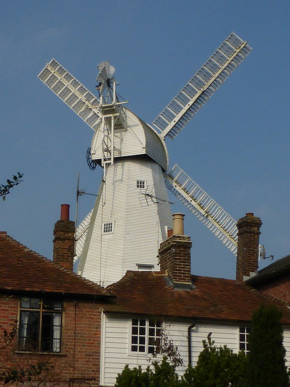 Cranbrook windmill Staplehurst to Headcorn walk (Cranbrook ending)