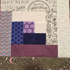 Block 1 #dogoodstitches #cheercircle #dgscheercircle #charitysewing #projectlinus