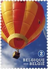 16 Luchtballonnen zegel A